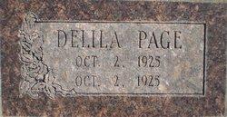 Delila Page