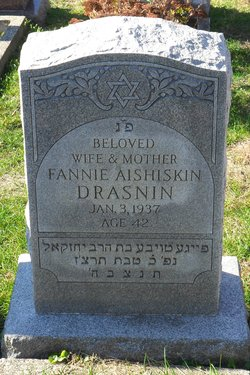 Fannie <I>Aishiskin</I> Drasnin