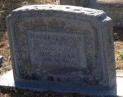 Mary Bonner <I>Gurganus</I> Hix