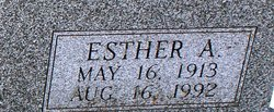 Esther A. <I>Meyer</I> Cramer