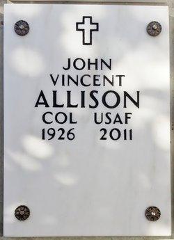 """Col John Vincent """"Jack"""" Allison"""