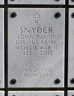 "John Ray ""Jack"" Snyder Jr."