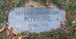 Serena <I>Davidson</I> Bowling