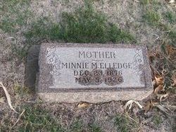 Minnie M. <I>Koenig</I> Elledge