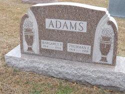 Thurman Franklin Adams