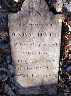 Mary Mollie <I>Barber</I> Hall