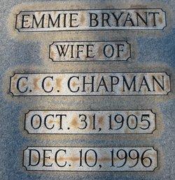 Emmie <I>Bryant</I> Chapman