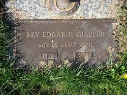 Rev Edgar H.S. Shaffer