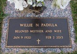 Willie Geneva <I>Neathery</I> Padilla