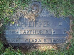 Clara E <I>Frederick</I> Pfeiffer