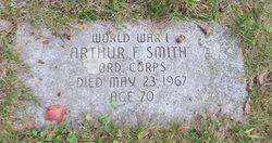 Arthur F Smith