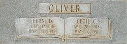 Fern <I>Dahl</I> Oliver