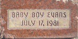 Baby Boy Evans