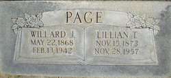 Willard James Page