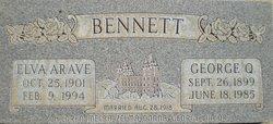 Elva Aroline <I>Arave</I> Bennett