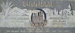Arnold Thayne Bingham