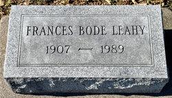 Frances Mae <I>Bode</I> Leahy