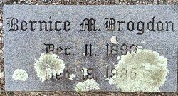 Bernice Myrtie <I>Maffett</I> Brogdon