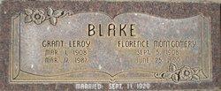 Florence Mae <I>Montgomery</I> Blake