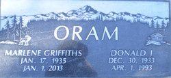 Donald J Oram