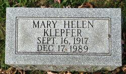 Mary Helen <I>Klepfer</I> Haugh