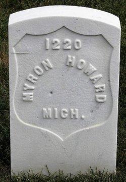 Pvt Myron Howard