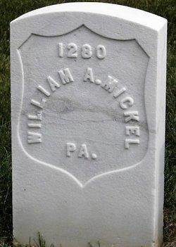 """William Abram """"Abel"""" Mickel"""