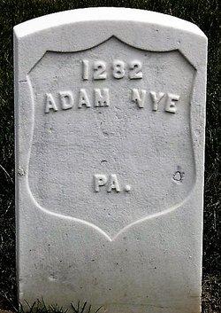 Pvt Adam Nye