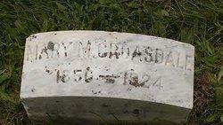 Mary Martha <I>Harper</I> Croasdale