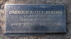 Darrold Royce Deremo, Sr