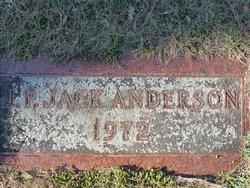 "John Peter ""Jack"" Anderson, Sr"