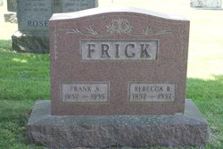 Frank A Frick 1857 1935