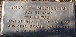 Andy Lee McWilliams