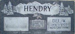 Dee W Hendry