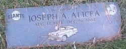 """Joseph A. """"Joe"""" Alicea"""
