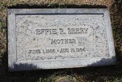 Effie Rebecca Beery