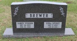 Edna Elmore <I>Spence</I> Brewer