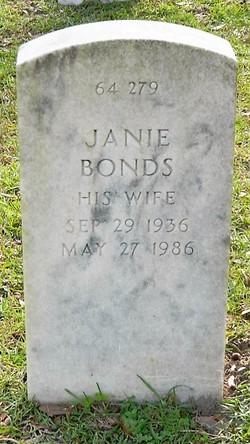 Janie Bonds Fields