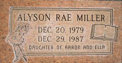 Alyson Rae Miller