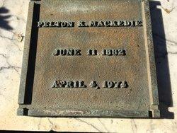 Pelton Keith Mackedie