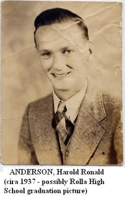 PVT Harold Ronald Anderson