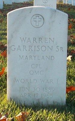 Warren Garrison, Sr