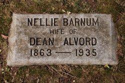 Nellie <I>Barnum</I> Alvord
