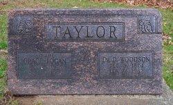 Dr D. Woodson Taylor