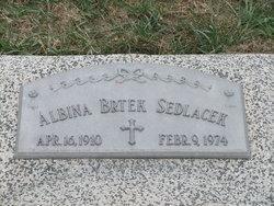 Albina <I>Brtek</I> Sedlacek
