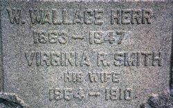 """Virginia Ruth """"Jennie"""" <I>Smith</I> Herr"""
