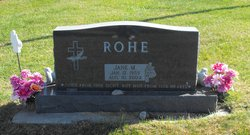 Jane M Rohe