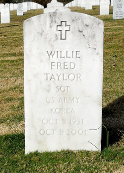 Willie Fred Taylor