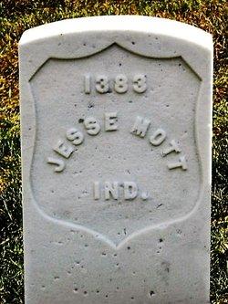 Pvt Jesse Mott