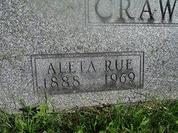 Aleta Rue <I>Wilbern</I> Crawford